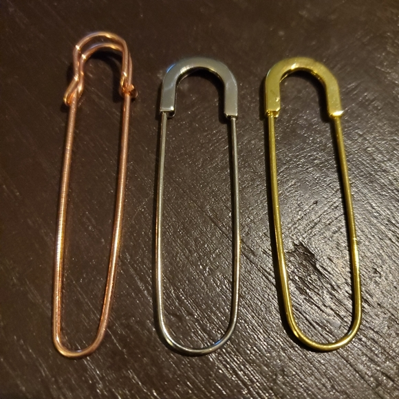 Oversized Safety Pins - Lot of 10